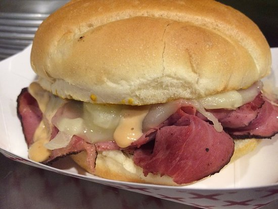 Bicknell, UT: One of our delicious sandwiches!
