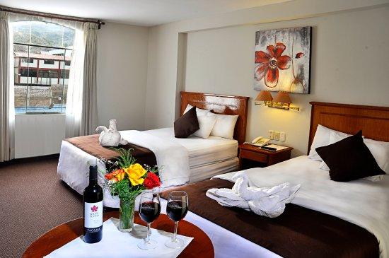Casona Plaza Hotel : Habitacion Twin