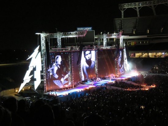 Camping World Stadium Metallica Stage
