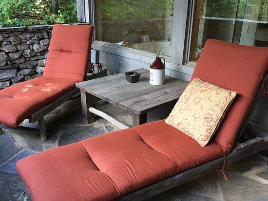 Waynesville, NC: Patio of the Terrace Room