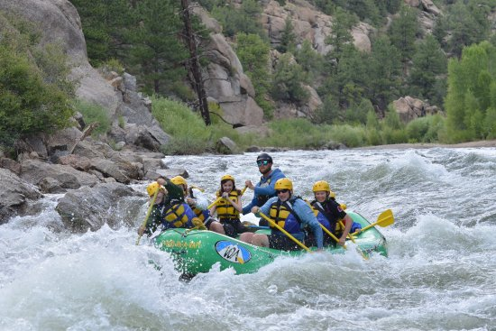 Buena Vista, CO: Raft trip - Browns Canyon