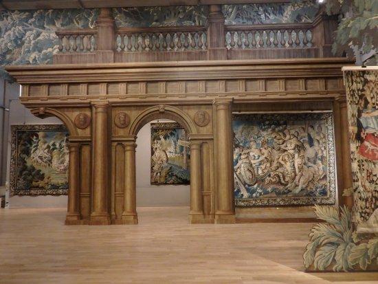 Aubusson, Γαλλία: Salles d'exposition