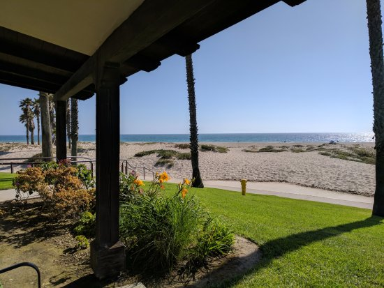 Embassy Suites by Hilton Mandalay Beach Resort: The view from our patio