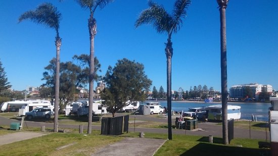 The Entrance, Australië: View from our cabin...