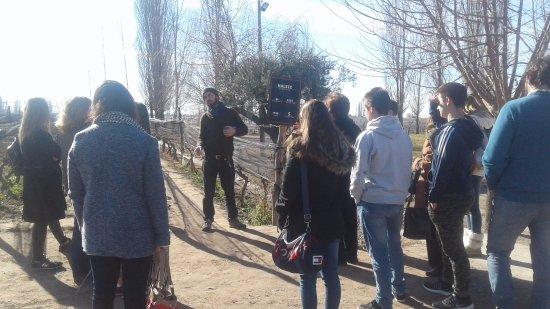 Luján de Cuyo, Argentina: Visita guiada a cargo de Ivan