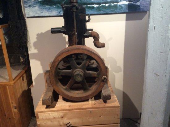 Bonavista, Kanada: Diesel engine used in fishing dorries