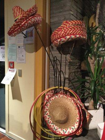 AmiGos Mexican Grill : mexican hats anyone?