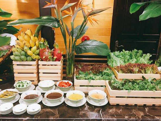 Tuan Chau Island, Vietnam: Fresh vegetable