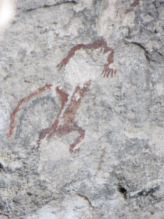 Gila, NM: Another petroglyph in the last cave