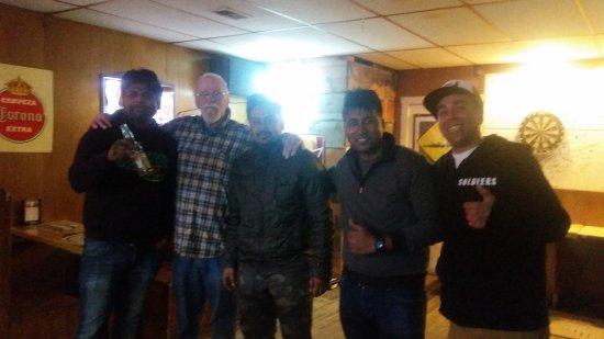 Leadville, CO: At Manhattan Bar after an intense pool game