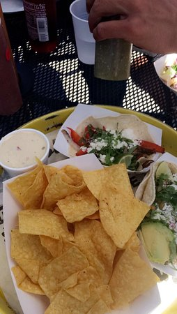 Maple Grove, MN: tacos, chips & queso