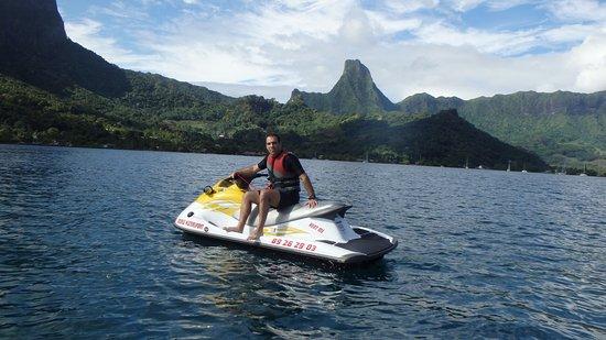 Vaiare, Polinesia Francesa: moorea jet ski tour