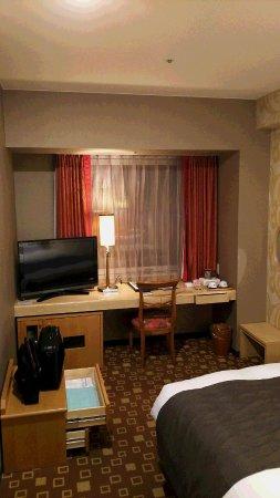 Grand Sanpia Hachinohe: シングルルームの客室