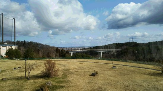 Grand Sanpia Hachinohe: レストランからの眺望