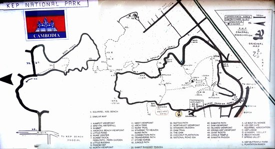 Kep, Kamboja: map_KNP2016_large.jpg