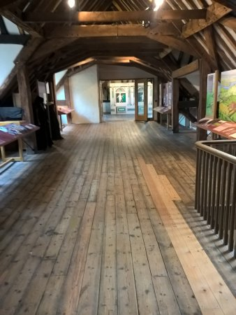 Eastbury Manor House: Attic Exhibition Space
