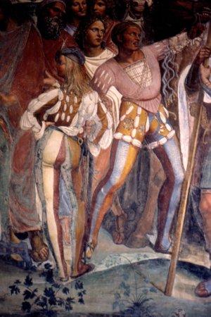 Asciano, Italia: Abbazia di Monte Oliveto Maggiore