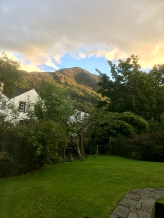 Buttermere, UK: View from crummock living room