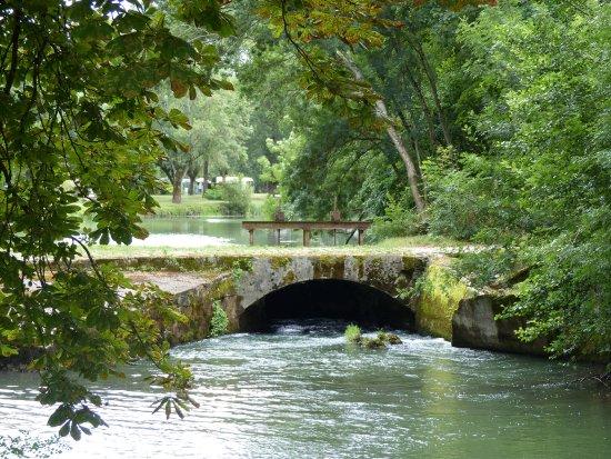 Azay-le-Rideau, France : Dans le domaine