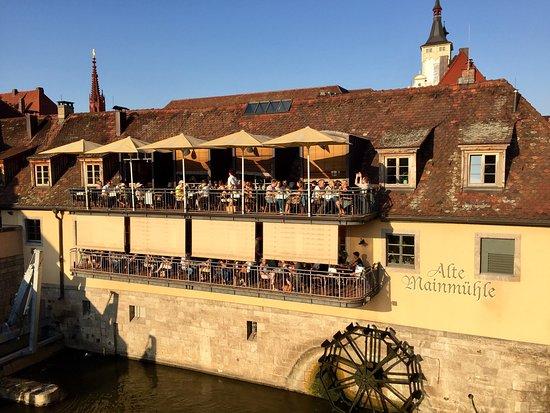 Alte Mainmühle : Restaurant