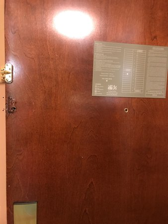 South Boston, VA: Someone posted mild pictures from 2013.  This stay was July 21,2017 and hotel room 219 was full