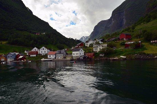 Sogn og Fjordane, Noorwegen: depuis le bateau