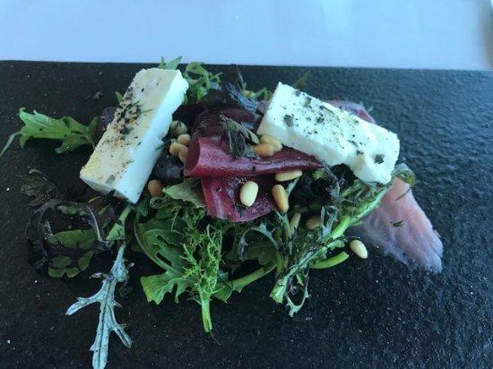 Iridescence: Salad - course two Kaiseki