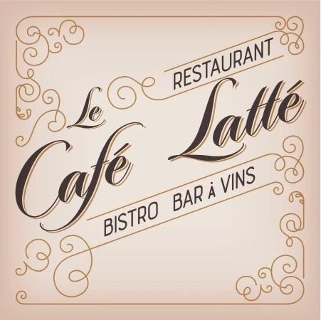 Auray, France : le café latté : Bistro Gourmandise et bar à vin