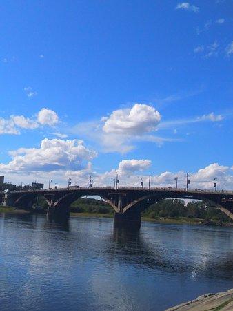 Иркутский мост через Ангару