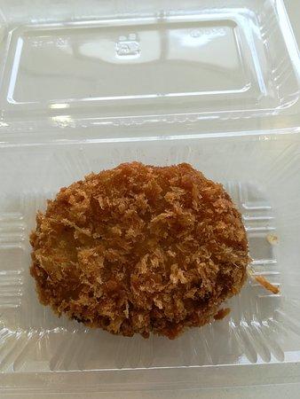 Sobetsu-cho, Japan: 奥洞爺牛入りコロッケ美味