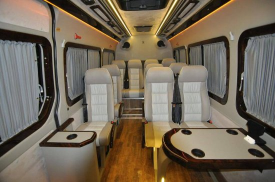 13 Seat Mercedes Sptinter On Rent In Dubai Picture Of Gb
