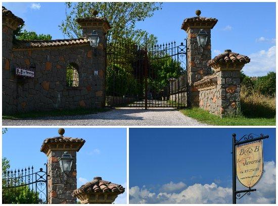 Genazzano, Włochy: ingresso