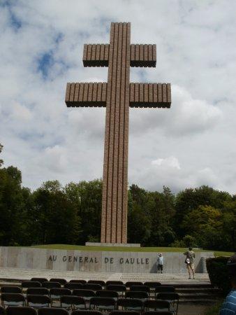 Colombey-les-deux-Eglises, Francja: Croix de Lorraine