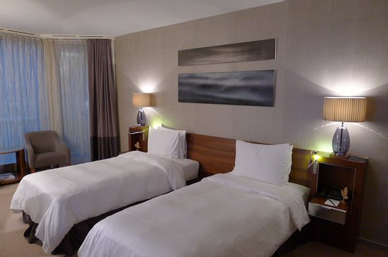 Grand Hotel Kempinski Geneva: シンプルな部屋でした