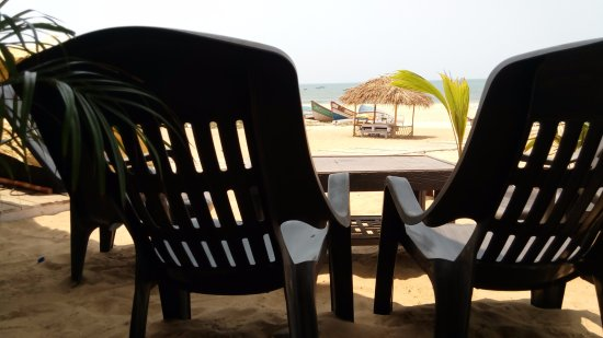 Saunta Vaddo, Indie: View from restaurant