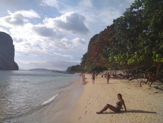 Phang Nga Province, Thailand: Райли и окрестности (на ближнем плане - не я)