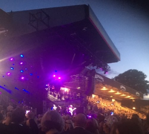 Newmarket, UK: Culture Club on stage