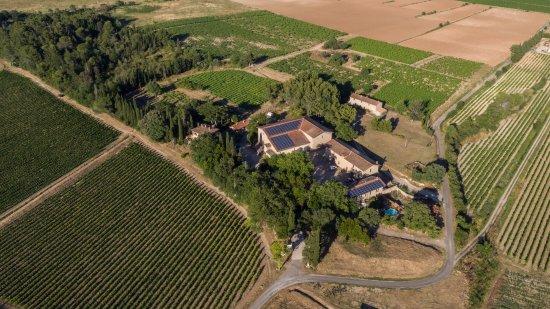 Montagnac, Fransa: Vu aérienne du Domaine de La conseillère