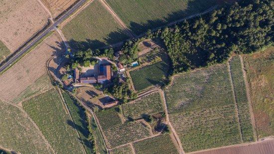 Montagnac, France: Vu aérienne du Domaine de La conseillère