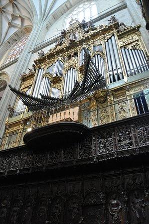 Astorga Cathedral : El organo de la catedral