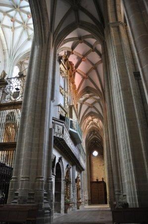 Astorga Cathedral : Altos techos