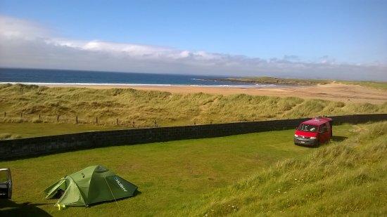 Achill Island, ไอร์แลนด์: Vue de la dune