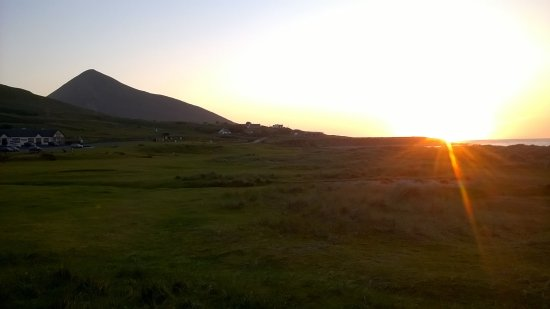 Achill Island, ไอร์แลนด์: Vue du camping