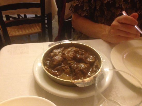 Can Culleretes : The beef dish.