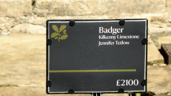 "Nunnington, UK: Price of the small badger ""How Much"""