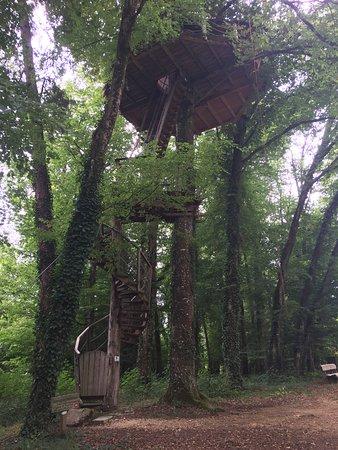Magne, Francia: Cabane Canopée