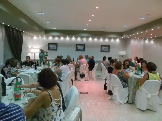 Hotel Marad: Una delle sale per la cena