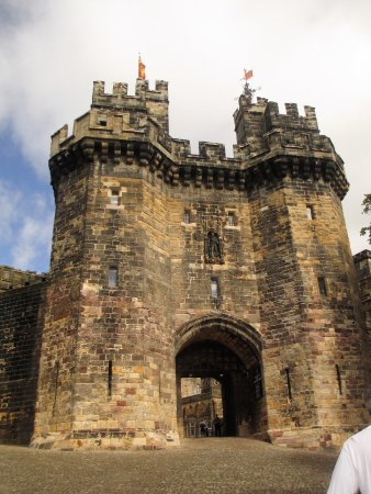 Lancaster castle entrance