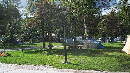 Bohinjska Bistrica, Slovenien: campeggio Danica