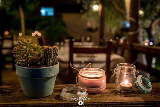 Petrignano, Italy: Summer garden at night 2017